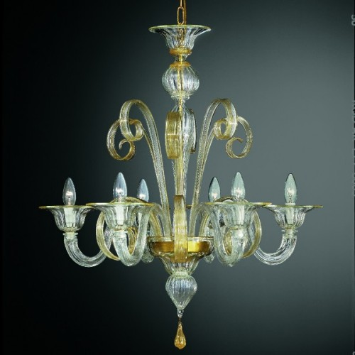 Murano Glass Chandelier 206