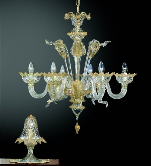 Murano Glass Chandelier 208-6