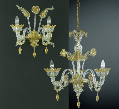 Murano Glass Chandelier 208