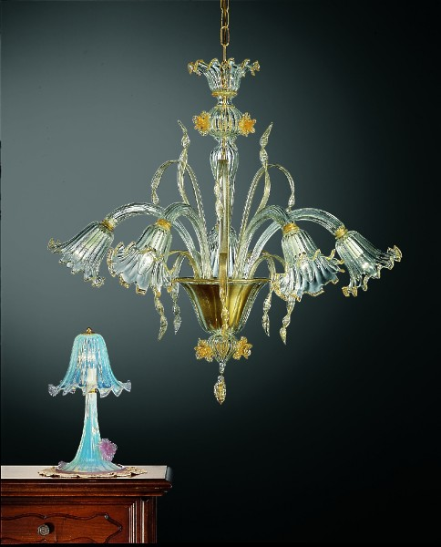 Murano Glass Chandelier 240-5