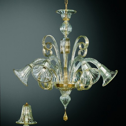 Murano Glass Chandelier 260