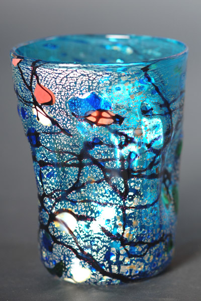 Murano glass drink glasses