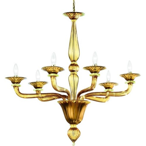 Murano Glass Chandelier Madera