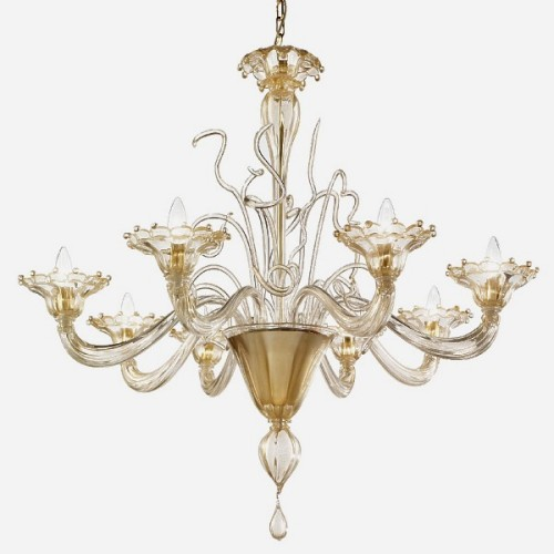 Murano Glass Chandelier Regale