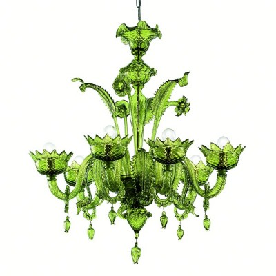 Murano glass chandelier mod. 208-6